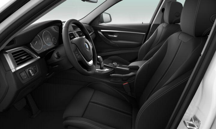 Vista Interior derecha del BMW Serie 3 316d Touring