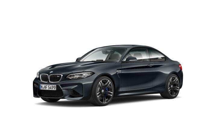 Vista Tres cuartos delantera izquierda del BMW M M2 Coupe