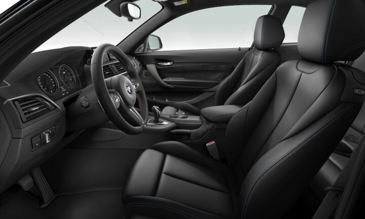 Vista Interior derecha del BMW M M2 Coupe