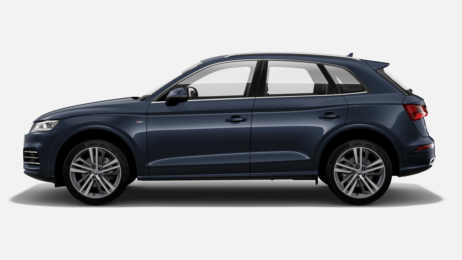 Vista Lateral izquierda de Audi Q5 35 TDI S Line Quattro S Tronic 120 kW (163 CV)