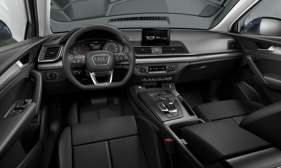 Vista Interior delantera de Audi Q5 35 TDI S Line Quattro S Tronic 120 kW (163 CV)