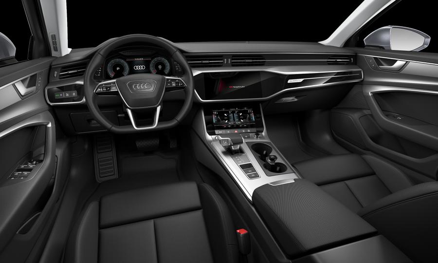 Vista Interior delantera de Audi A6 Avant 45 TDI Sport Quattro Tiptronic 170 kW (231 CV)
