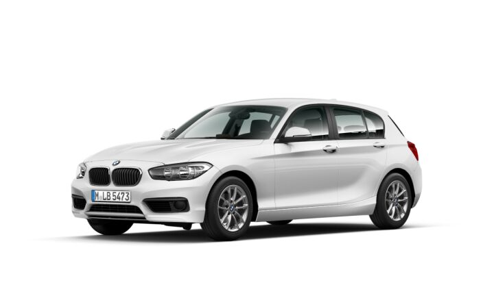 Vista Tres cuartos delantera izquierda del BMW Serie 1 116d