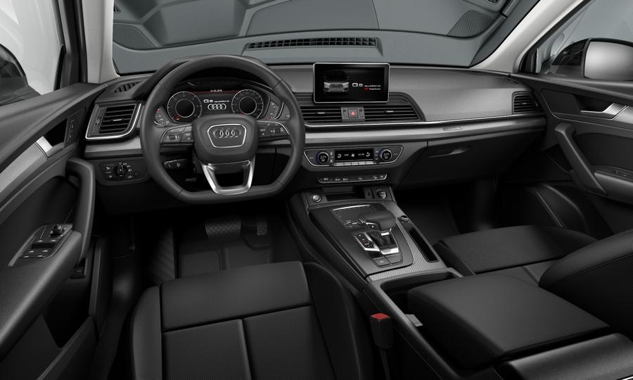 Vista Interior delantera de Audi Q5 40 TDI Black Line  Quattro S Tronic 140 kW (190 CV)