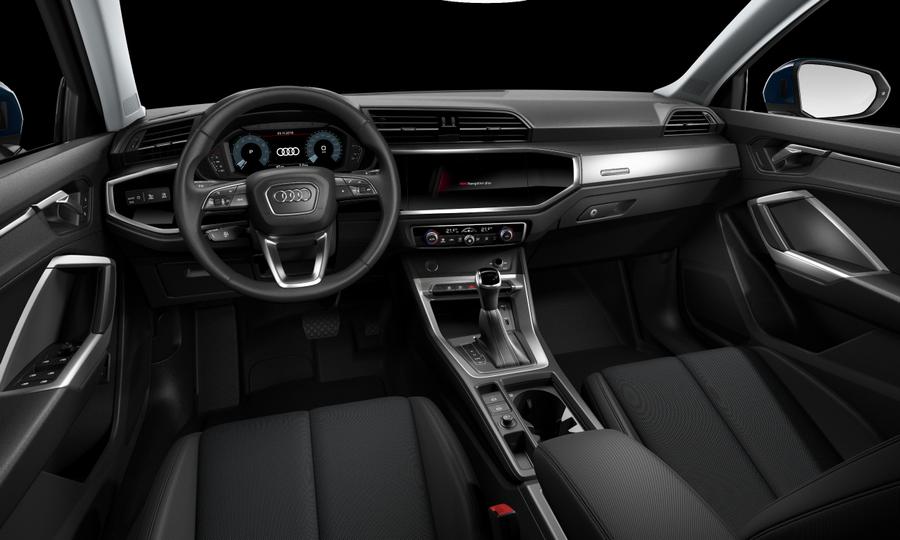 Vista Interior delantera de Audi Q3 35 TFSI Advanced S Tronic 110 kW (150 CV)