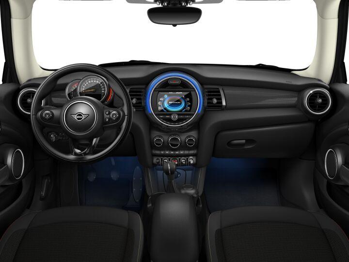 Vista Interior delantera del MINI 3 Puertas Cooper D 85 kW (116 CV)