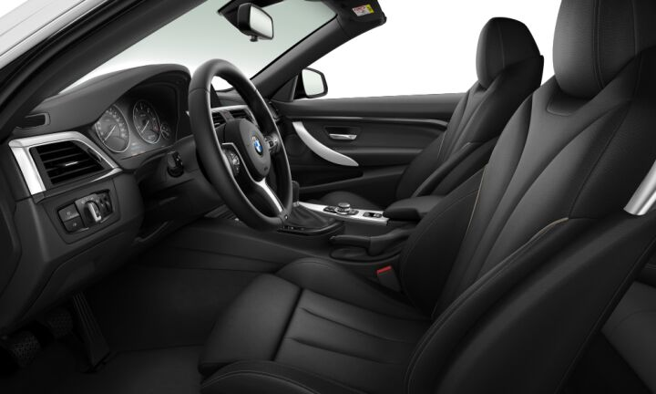Vista Interior derecha del BMW Serie 4 420d Cabrio