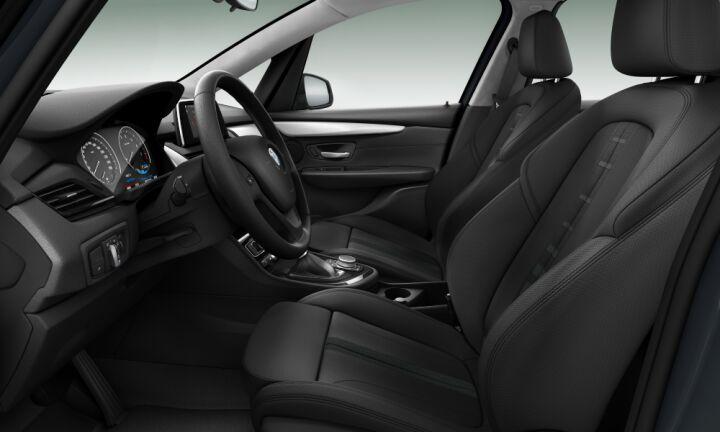 Vista Interior derecha del BMW Serie 2 225xe iPerformance Active Tourer