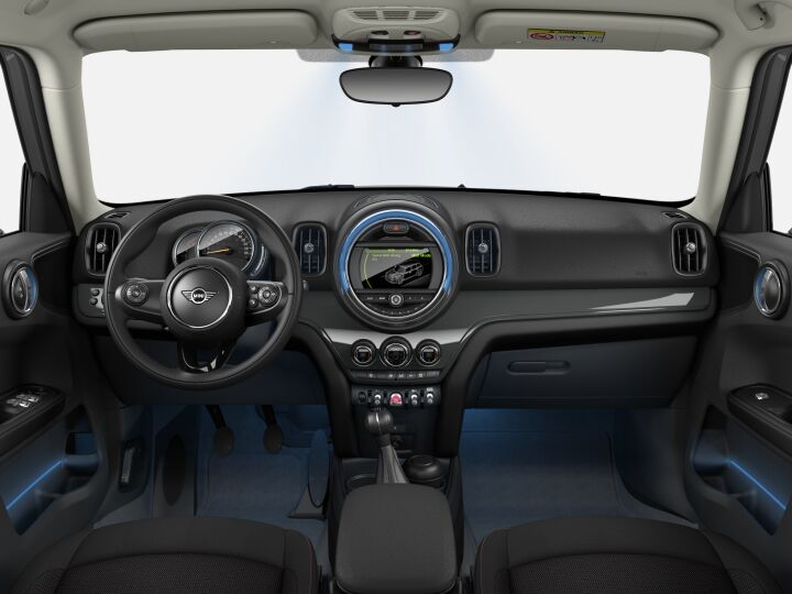 Vista Interior delantera del MINI Countryman 85 kW (116 CV)