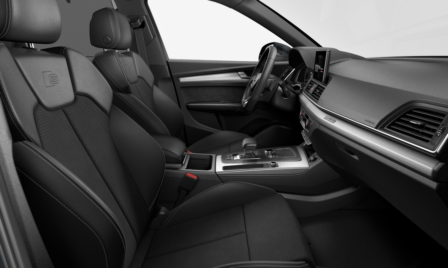 Vista Interior derecha de Audi Q5 40 TDI S Line Quattro S Tronic 140 kW (190 CV)