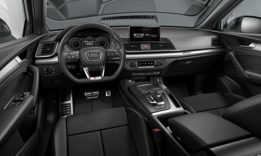 Vista Interior delantera de Audi Q5 40 TDI S Line Quattro S Tronic 140 kW (190 CV)