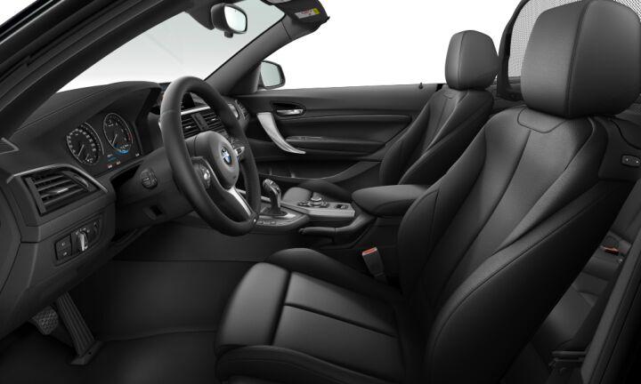 Vista Interior derecha del BMW Serie 2 220d Cabrio