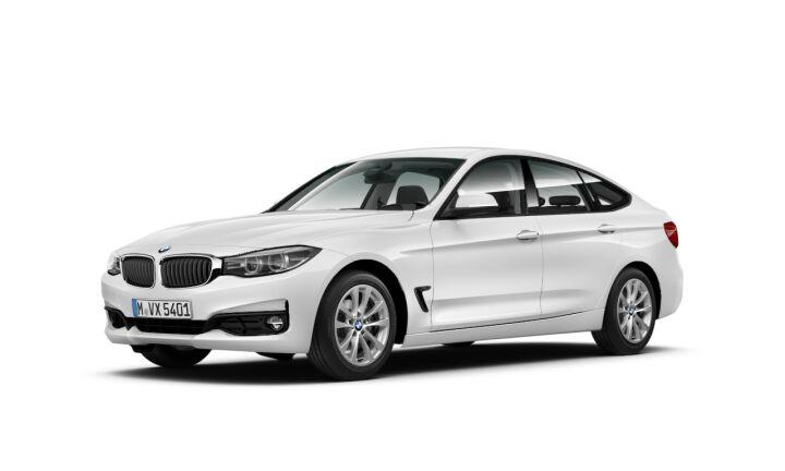 Vista Tres cuartos delantera izquierda del BMW Serie 3 318d Gran Turismo
