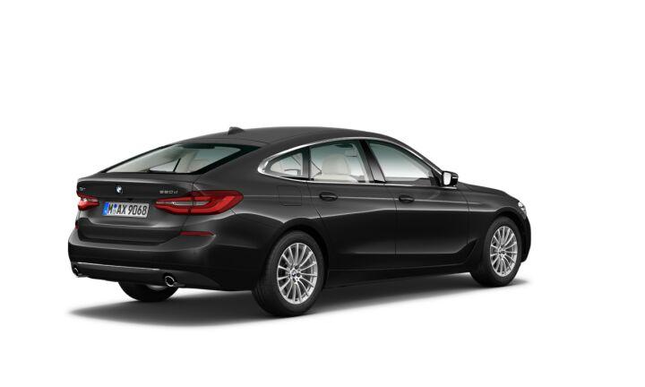 Vista Tres cuartos trasera izquierda del BMW Serie 6 620d Gran Turismo