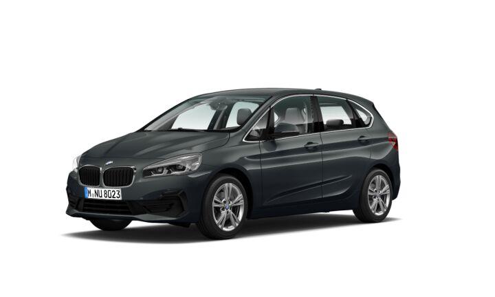Vista Tres cuartos delantera izquierda del BMW Serie 2 218d Active Tourer 110 kW (150 CV)
