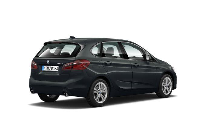 Vista Tres cuartos trasera izquierda del BMW Serie 2 218d Active Tourer 110 kW (150 CV)