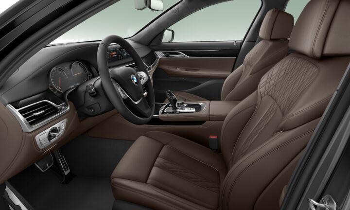 Vista Interior derecha del BMW Serie 7 740d