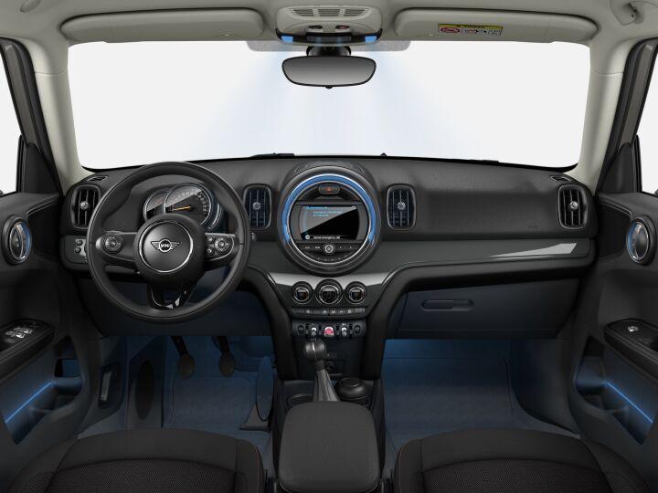 Vista Interior delantera de MINI MINI Countryman 85 kW (116 CV)