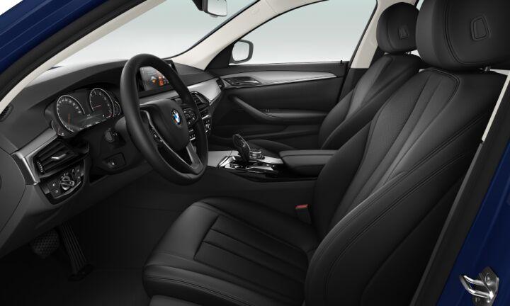 Vista Interior derecha del BMW Serie 5 520d Touring