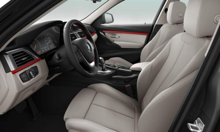 Vista Interior derecha del BMW Serie 3 320d Touring