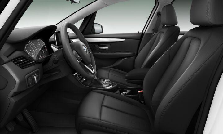Vista Interior derecha del BMW Serie 2 218d Active Tourer 110 kW (150 CV)