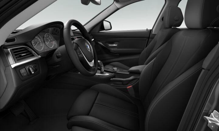 Vista Interior derecha del BMW Serie 3 318d Gran Turismo