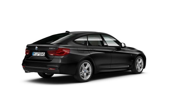 Vista Tres cuartos trasera izquierda del BMW Serie 3 320d Gran Turismo