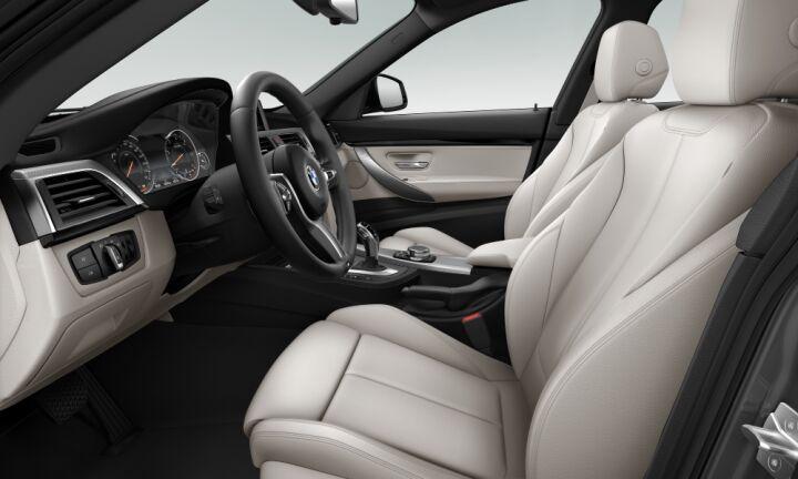 Vista Interior derecha del BMW Serie 3 320d Gran Turismo