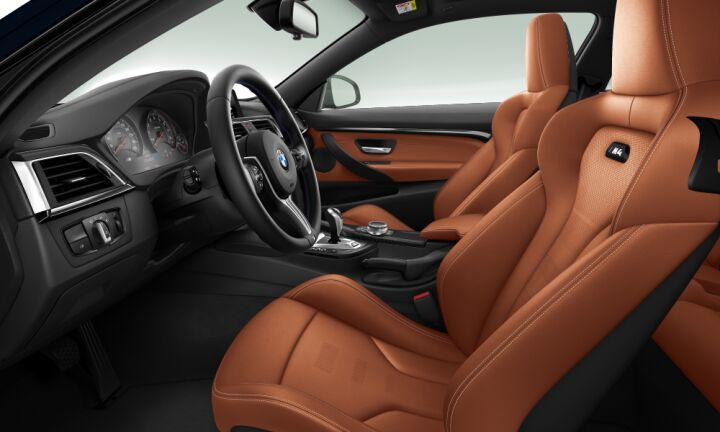Vista Interior derecha del BMW M M4 Coupe