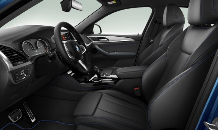 Vista Interior derecha del BMW X4 xDrive25d