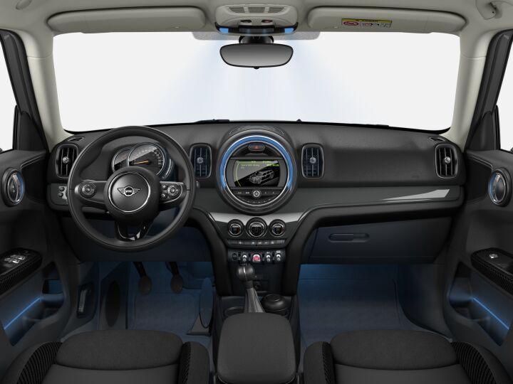 Vista Interior delantera de MINI MINI Countryman Cooper D 110 kW (150 CV)