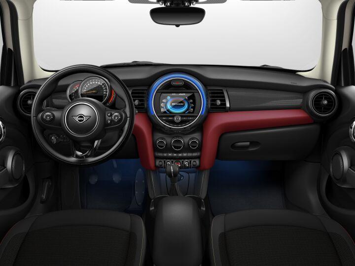 Vista Interior delantera del MINI 5 Puertas Cooper D 85 kW (116 CV)