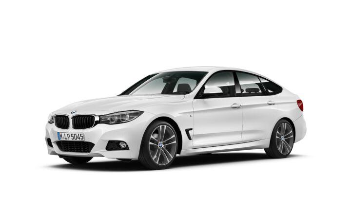 Vista Tres cuartos delantera izquierda del BMW Serie 3 320d Gran Turismo