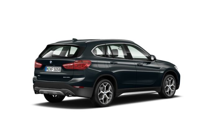 Vista Tres cuartos trasera izquierda de BMW X1 sDrive18d 110 kW (150 CV)