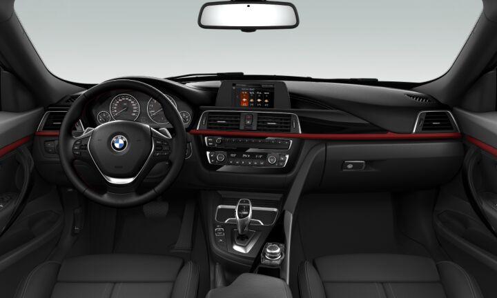 Vista Interior delantera de BMW Serie 3 320i Gran Turismo 135 kW (184 CV)