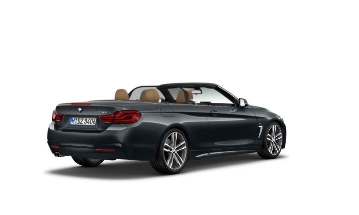 Vista Tres cuartos trasera izquierda de BMW Serie 4 430i Cabrio 185 kW (252 CV)