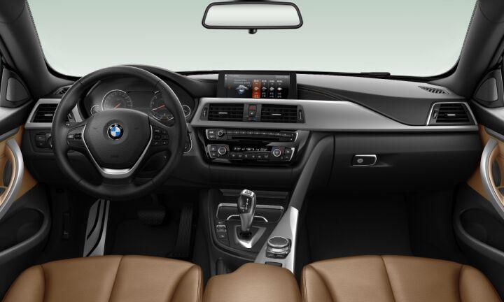 Vista Interior delantera de BMW Serie 4 430i Cabrio 185 kW (252 CV)