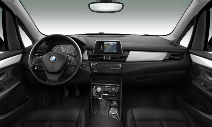 Vista Interior delantera del BMW Serie 2 218i Active Tourer 103 kW (140 CV)
