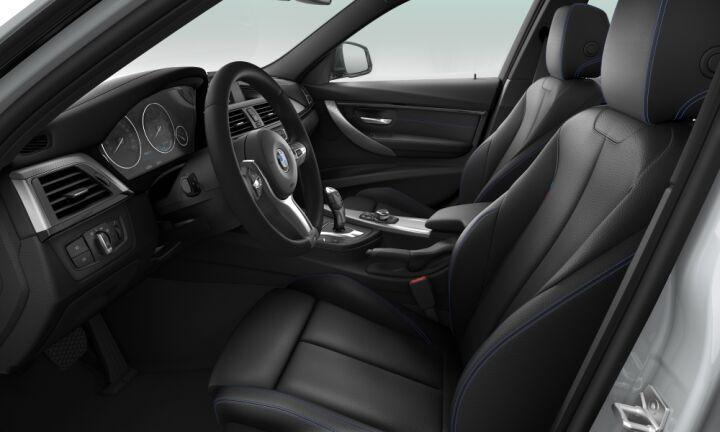 Vista Interior derecha del BMW Serie 3 318d