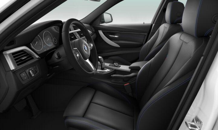Vista Interior derecha del BMW Serie 3 320d
