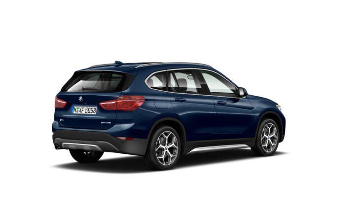 Vista Tres cuartos trasera izquierda de BMW X1 sDrive18i 103 kW (140 CV)