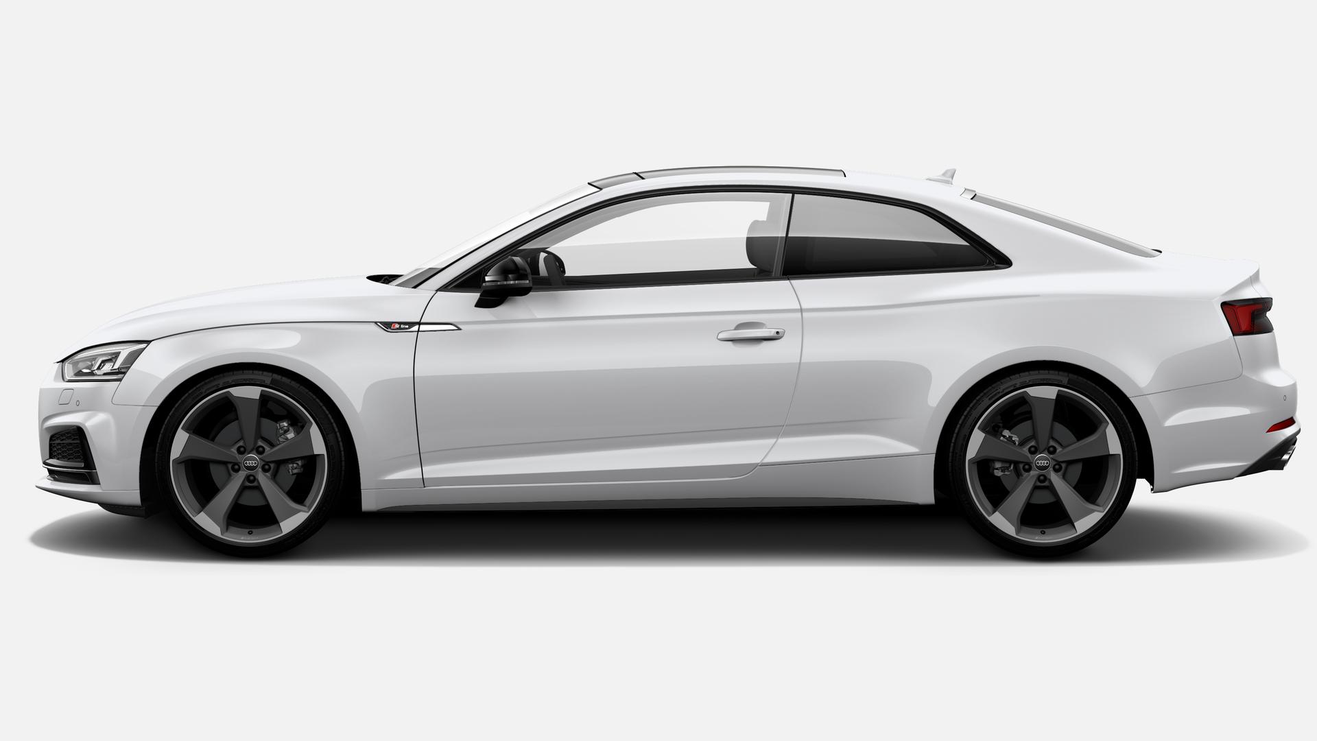 Vista Lateral izquierda de Audi A5 Coupe 40 TFSI S line S tronic 140 kW (190 CV)