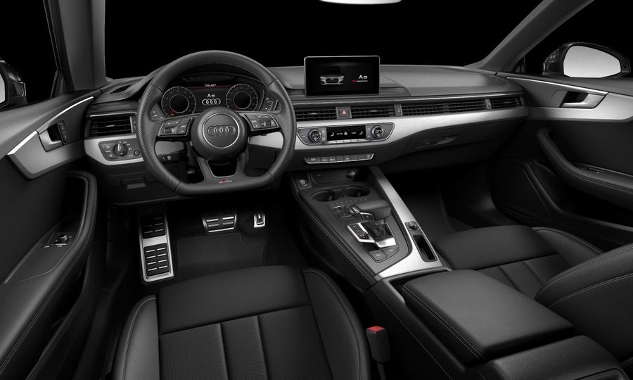 Vista Interior delantera de Audi A5 Coupe 40 TFSI S line S tronic 140 kW (190 CV)