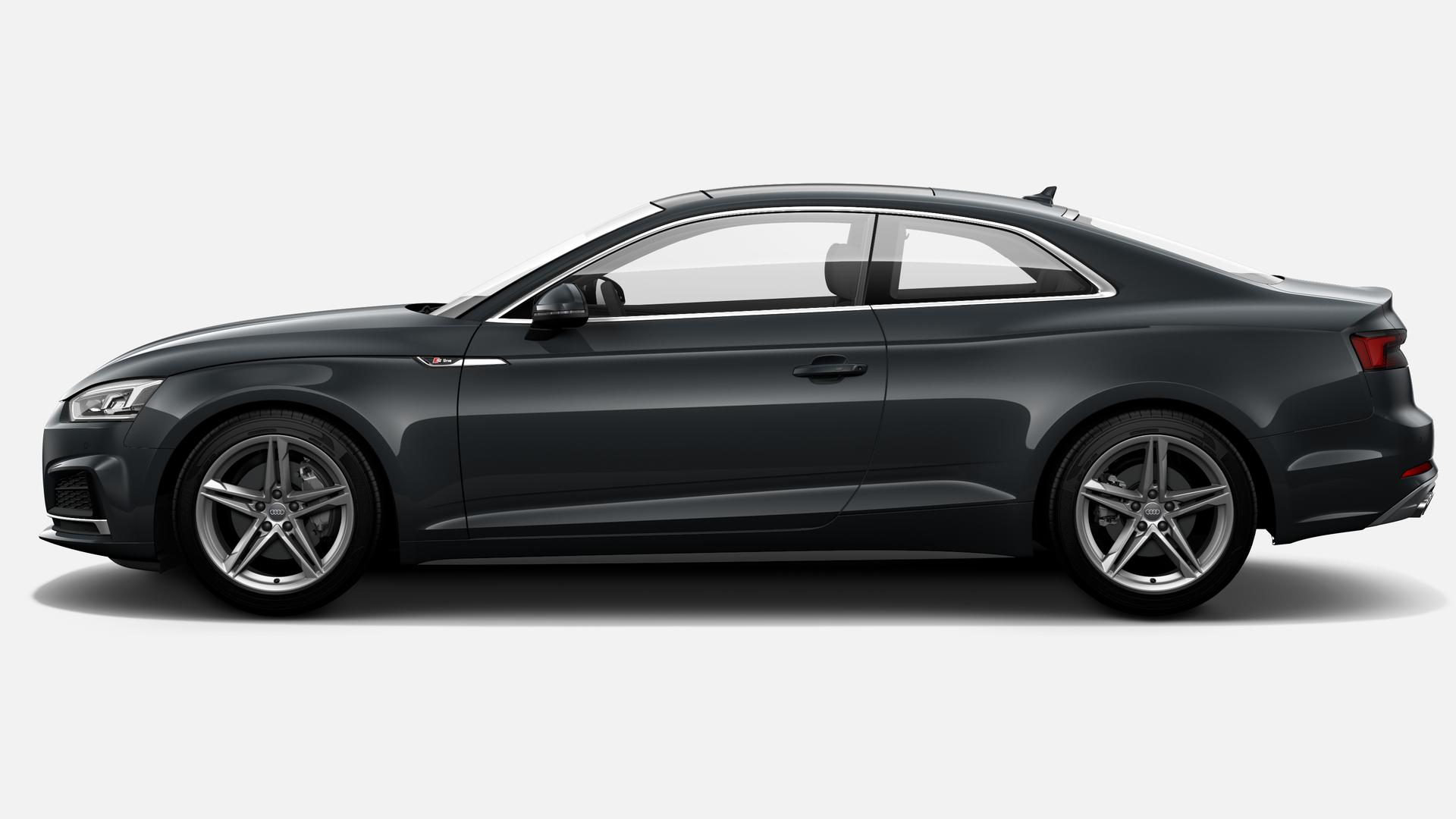 Vista Lateral izquierda de Audi A5 Coupe 40 TDI S line quattro S tronic 140 kW (190 CV)