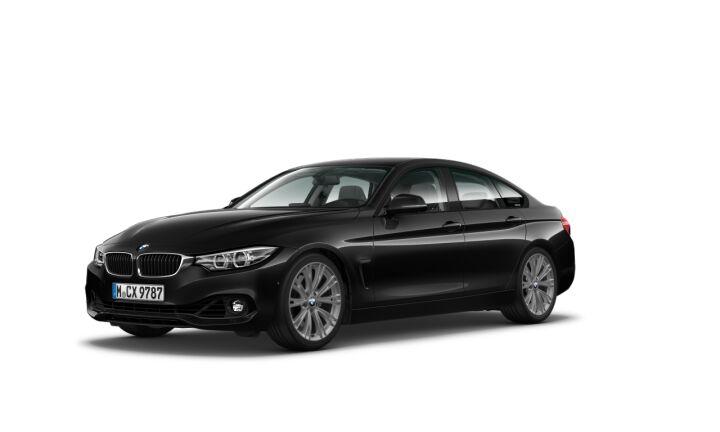 Vista Tres cuartos delantera izquierda del BMW Serie 4 440i Gran Coupe