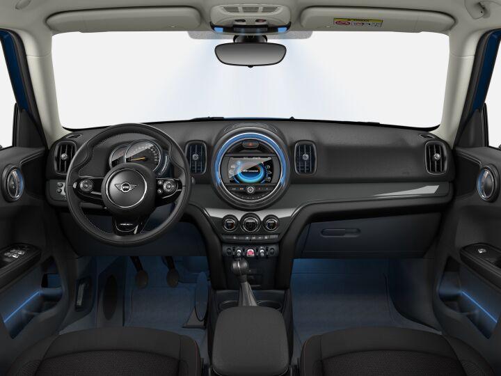 Vista Interior delantera del MINI Countryman Cooper D 110 kW (150 CV)