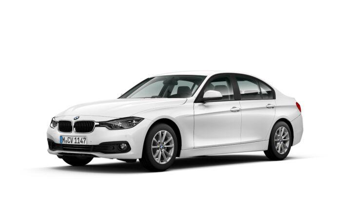 Vista Tres cuartos delantera izquierda del BMW Serie 3 316d