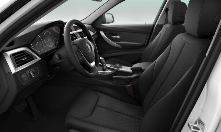 Vista Interior derecha del BMW Serie 3 316d