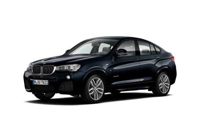 Vista Tres cuartos delantera izquierda del BMW X4 xDrive20d