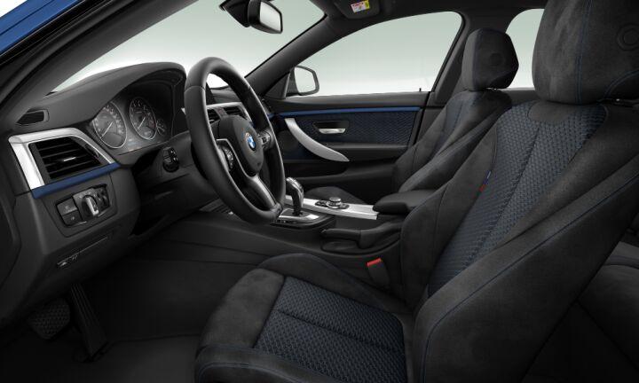 Vista Interior derecha del BMW Serie 4 430i Gran Coupe